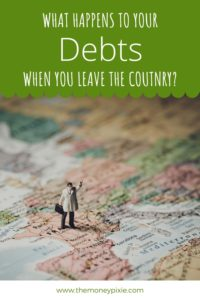 can debt collectors follow you to another country