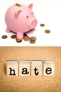 i hate saving money