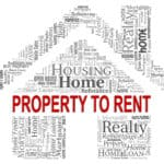 Property To Rent Indicating Real Estate And Rented