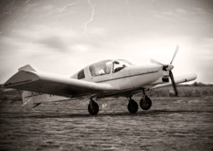 Vintage image of a plane -Is $300,000 Dollars a Lot of Money