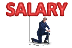 Businessman pumping salary in business concept -Is $200,000 Dollars a Lot of Money