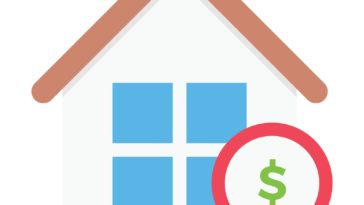 image of a house with a dollar sign