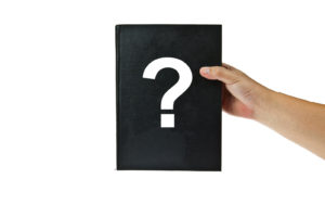 Black book with question mark -I'm 28 Years Old and Haven't Started Saving Money Is It Too Late
