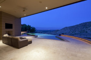 Outdoor view from living room of country house -Is $10,000,000 Dollars a Lot of Money