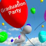 Graduation Balloons Shows School College Or University Graduations